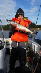 Hauki on kala, nuorten kalaleiri 10.-11.10.2015