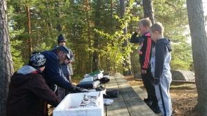 Kalastusopas Vesa Koskisen opissa